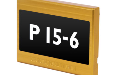 POD-PARK-101: FLOOR OR WALL MOUNTED NUMBER POD